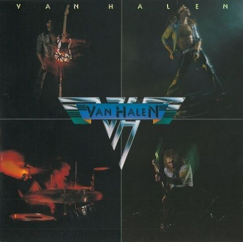 VAN HALEN Van Halen Vinyl Record LP German Warner Bros.